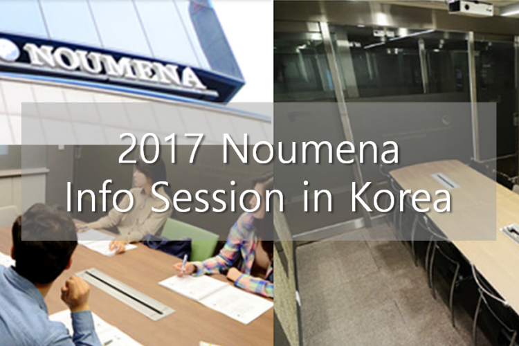 2017 Noumena Info Session in Korea