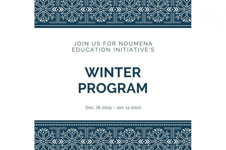 2019 Noumena Winter Session